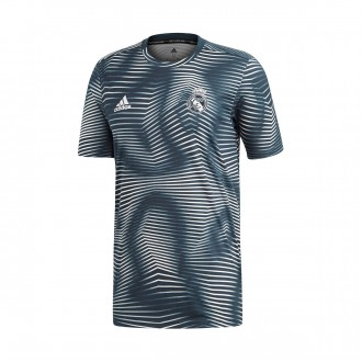 Camiseta  adidas Real Madrid PrematchI 2018-2019 Tech onix-Core white
