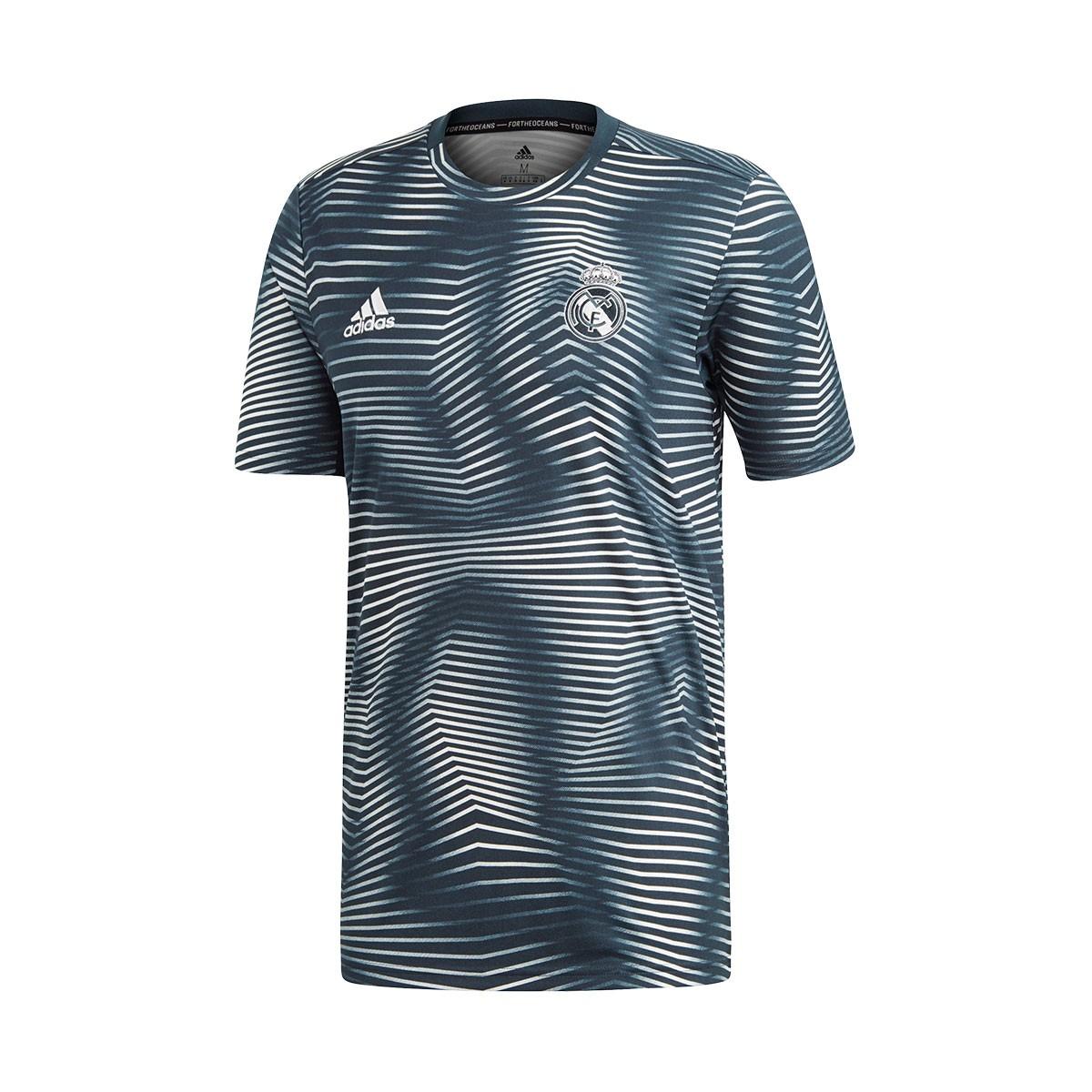 78c2e1f36d24e Camiseta adidas Real Madrid PrematchI 2018-2019 Tech onix-Core white -  Tienda de fútbol Fútbol Emotion