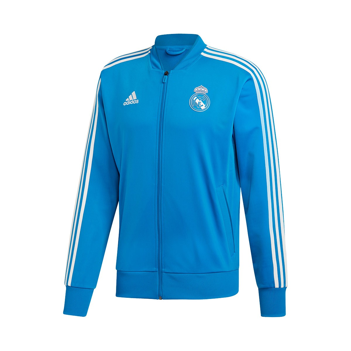 abd0d0b0b Jacket adidas Real Madrid PES 2018-2019 Craft blue-Core white ...
