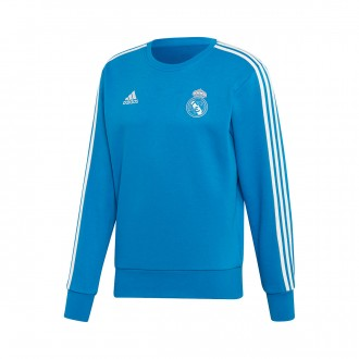 Sweatshirt  adidas Real Madrid SWT TOP 2018-2019 Craft blue-Core white