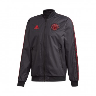 Jacket  adidas Manchester United FC Anthem 2018-2019 Black