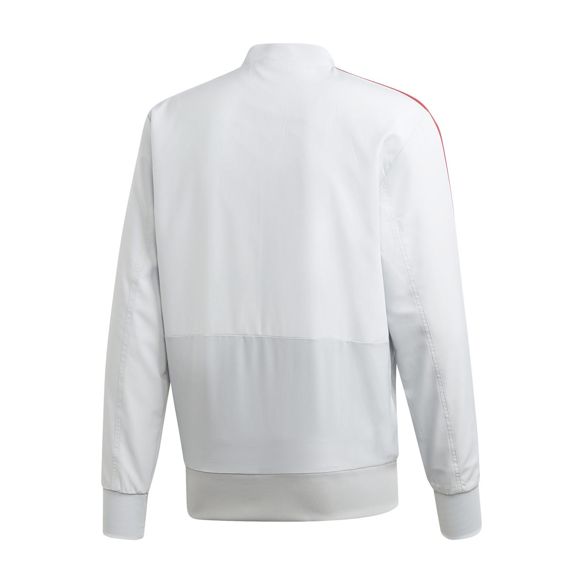 9a95d681d Jacket adidas Manchester United FC Prematch 2018-2019 Clear grey-Blaze red  - Football store Fútbol Emotion