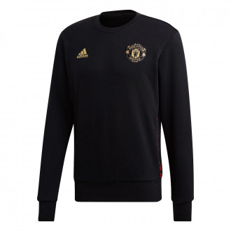 Sweat  adidas Manchester United FC CNY CR SWT 2018-2019 Black