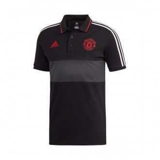 Polo shirt  adidas Manchester United FC 2018-2019 Black