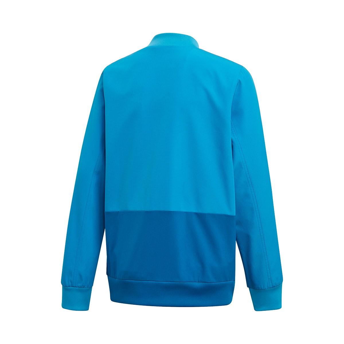 e3148344 Jacket adidas Kids Real Madrid Prematch 2018-2019 Craft blue-Dark ...