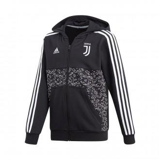Jacket  adidas Juventus FZ Hoodie 2018-2019 Niño Black
