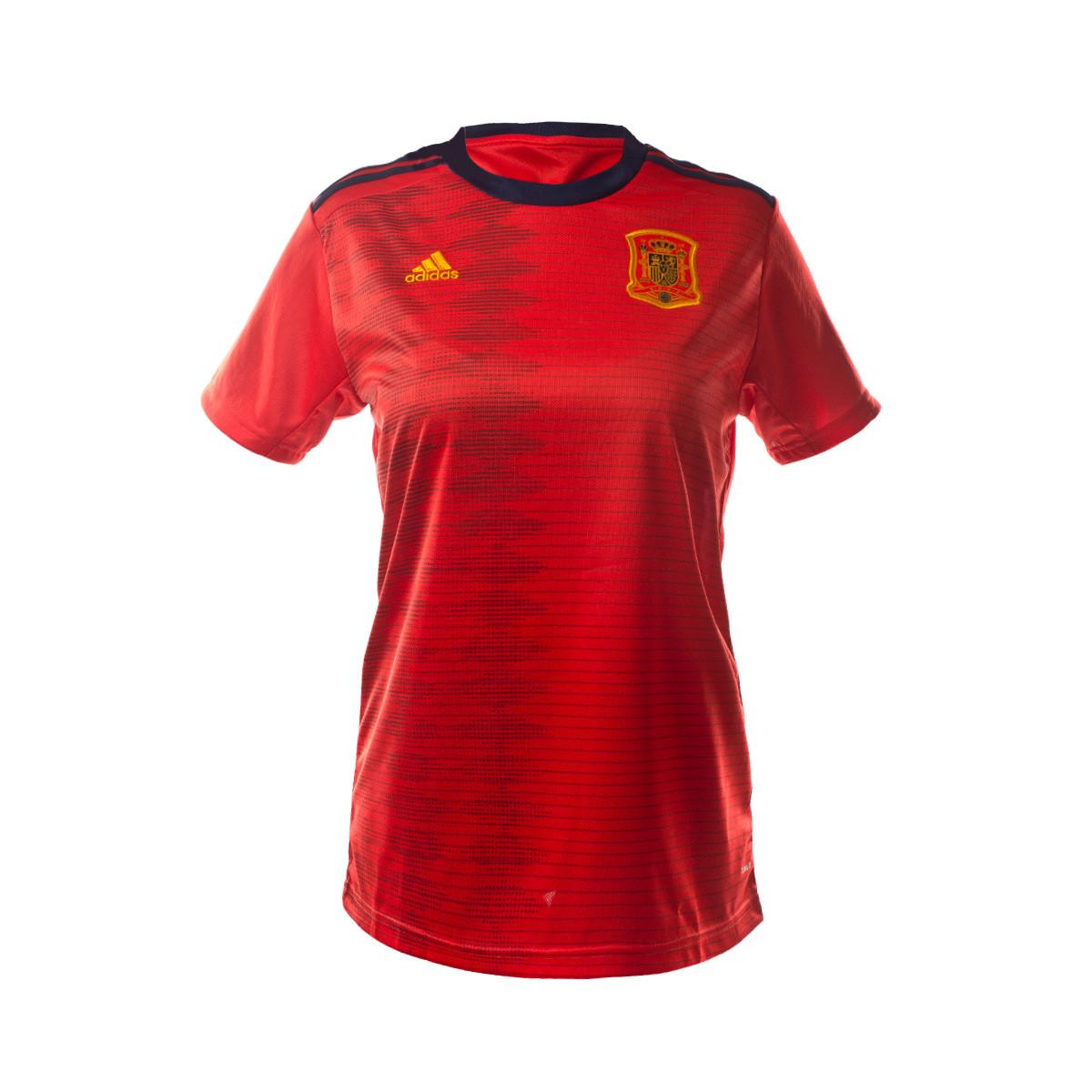 España Equipación Wwc Camiseta 2019 Mujer Primera Red ymw8nvN0O