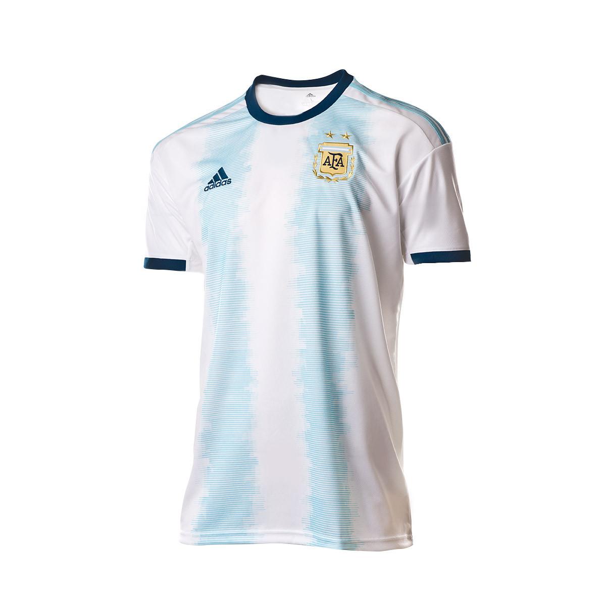 48700abde Jersey adidas Argentina 2019 Home White-Light aqua - Football store Fútbol  Emotion