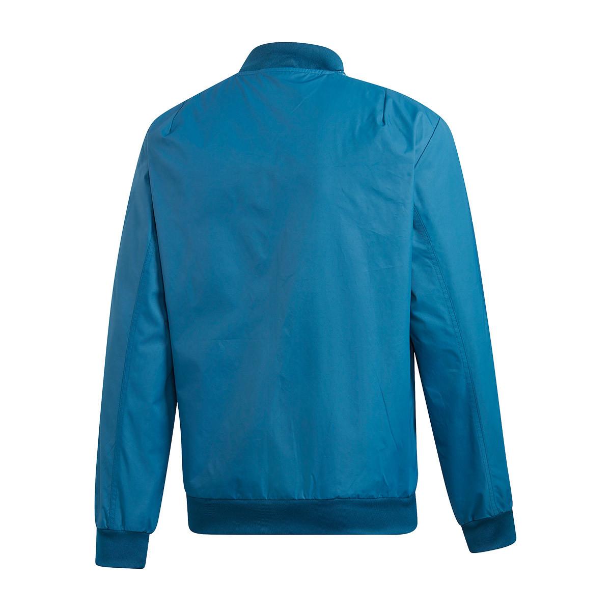 44f594d1fa0c Jacket adidas Argentina Anthem 2019 Blue night-Light aqua - Football ...