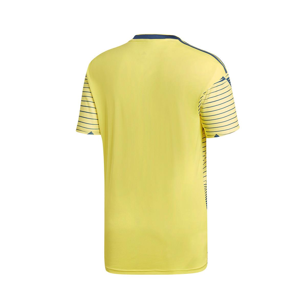 f3b0f4d8d8e80 Jersey adidas Colombia 2019 Home Light yellow-Night marine - Football store  Fútbol Emotion
