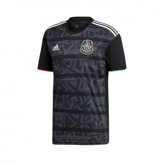 Maillot  adidas Mexico Domicile 2019 Black-White