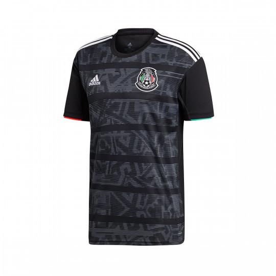 93b463fcb53c6 Camiseta adidas Mexico Primera Equipación 2019 Black-White - Tienda de  fútbol Fútbol Emotion