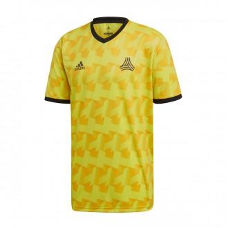 Camiseta  adidas Tango AOP Semi Solar yellow