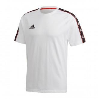 Camiseta  adidas Tango Tape White