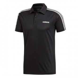 Polo shirt  adidas 3S Design2Move Black