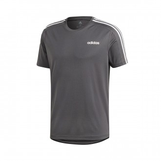 Camiseta  adidas 3S Design2Move Grey six