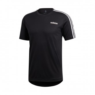 Camiseta  adidas 3S Design2Move Black