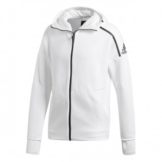 Sweatshirt  adidas ZNE Fast Release White