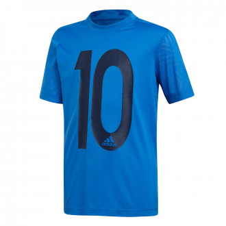 Camiseta adidas Messi Icon Niño Blue