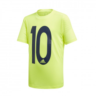 Maillot  adidas Messi Icon Niño Solar yellow