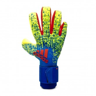 Guante  adidas Predator Pro Solar yellow-Bold blue-Active red