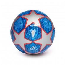 Balón Finale Capitano Silver metallic-Bold blue-Football blue-Light