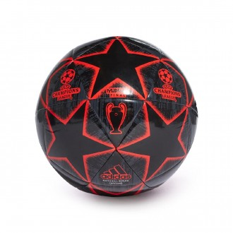 Pallone  adidas Finale Capitano Black-Night grey-Active red