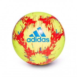 Balón adidas Capitano Solar yellow-Football blue-Active red