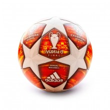 Balón Finale OMB White-Active red-Scarlet-Solar red
