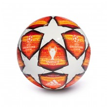 Balón Finale Madrid 19 Competition White-Active red-Scarlet-Solar red