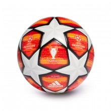 Balón Finale Madrid 19 Training White-Active red-Scarlet-Solar red