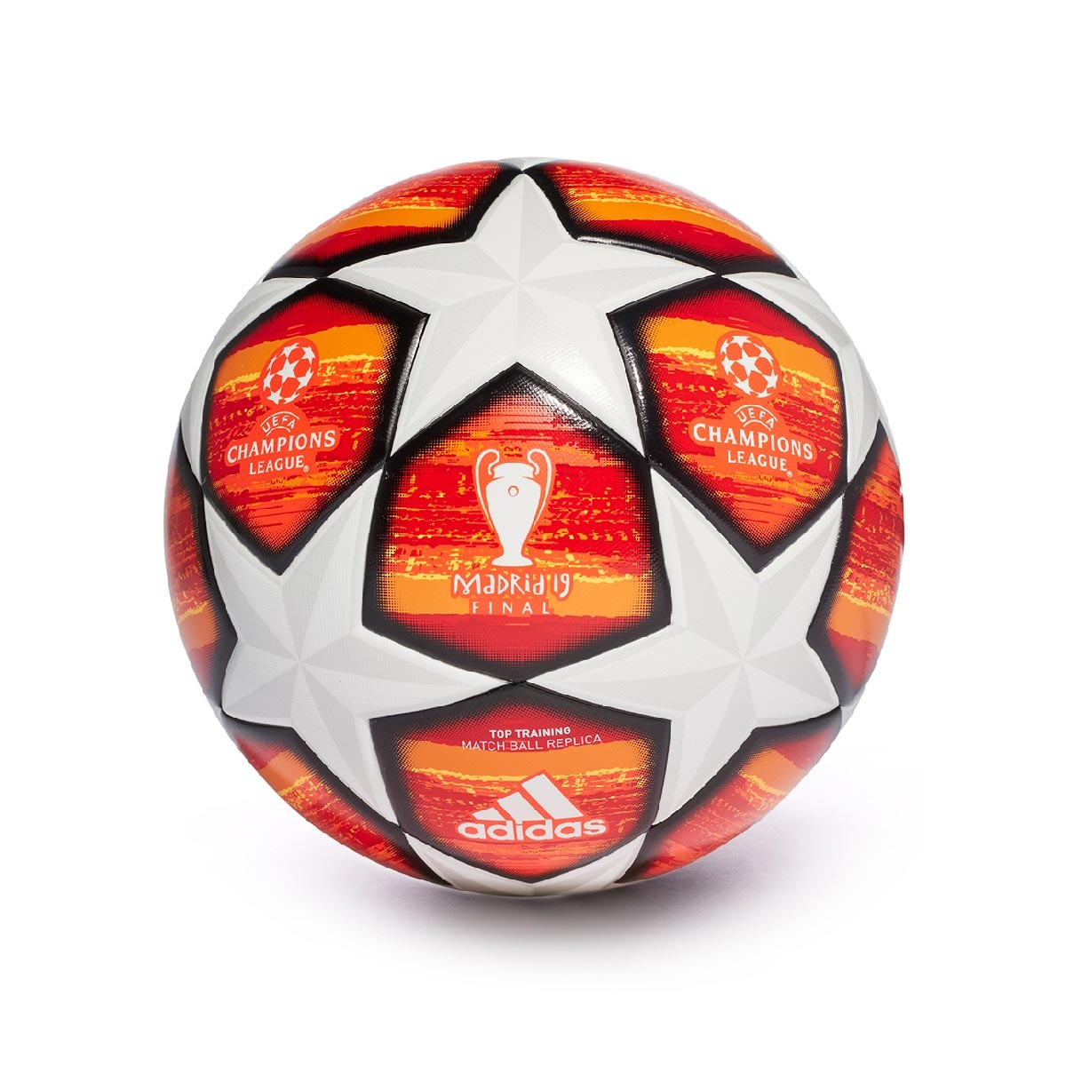 Balón Adidas Madrid Scarlet Active White 19 Training Red Finale U1xfnHwqU