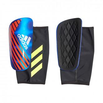 Espinillera  adidas X Pro Bold blue-Active red-Silver metallic