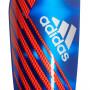 Espinillera X Pro Bold blue-Active red-Silver metallic