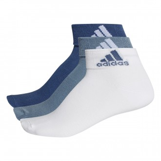 Calcetines  adidas Performance Ankle Thin Indigo-White-Black