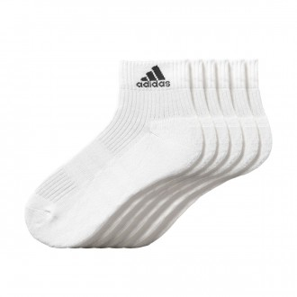 Calcetines  adidas 3S Performance Ankle Half C. Blanco