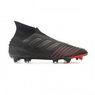 Bota  adidas Predator 19+ FG Core black-Core black-Active red