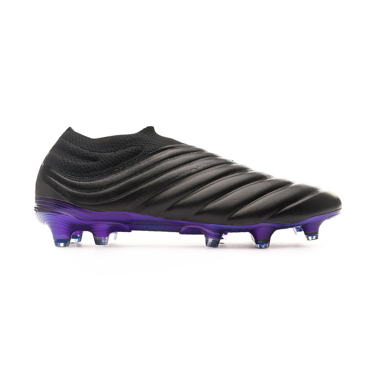 Scarpe adidas Copa 19+ FG Core black Grey six Bold blue