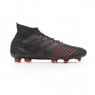 Bota  adidas Predator 19.1 FG Core black-Active red