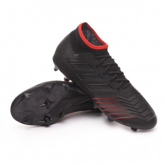 Bota  adidas Predator 19.2 FG Core black-Active red