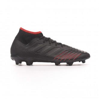 Bota  adidas Predator 19.2 FG Core black-Active red
