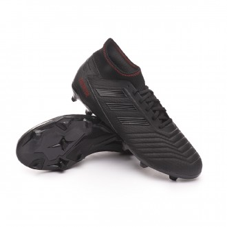 Bota  adidas Predator 19.3 FG Core black-Active red