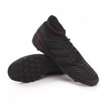Zapatilla Predator Tango 19.3 Turf Core black-Active red