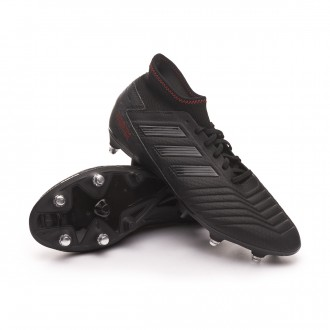 Bota  adidas Predator 19.3 SG Core black-Active red