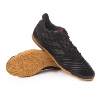 Sapatilha de Futsal  adidas Predator 19.4 IN Sala Core black-Active red
