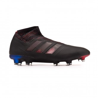 Football Boots  adidas Nemeziz 18+ FG Core black-Football blue