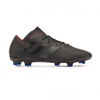 Chuteira adidas Nemeziz 18.2 FG Core black-Football blue