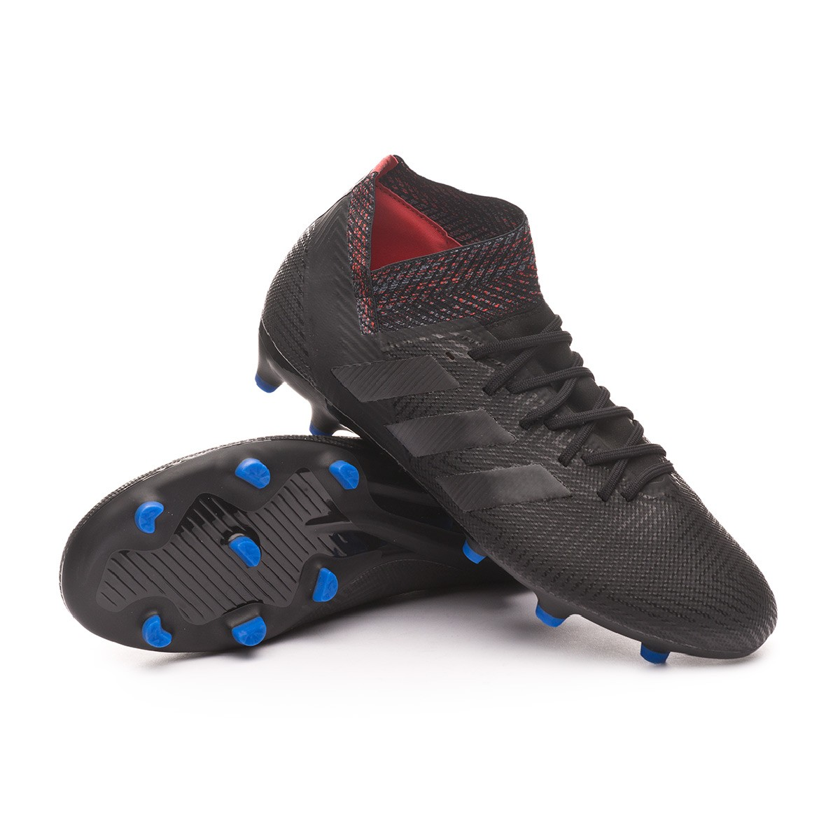 a9babcf8b76c Football Boots adidas Nemeziz 18.3 FG Core black-Football blue - Football  store Fútbol Emotion