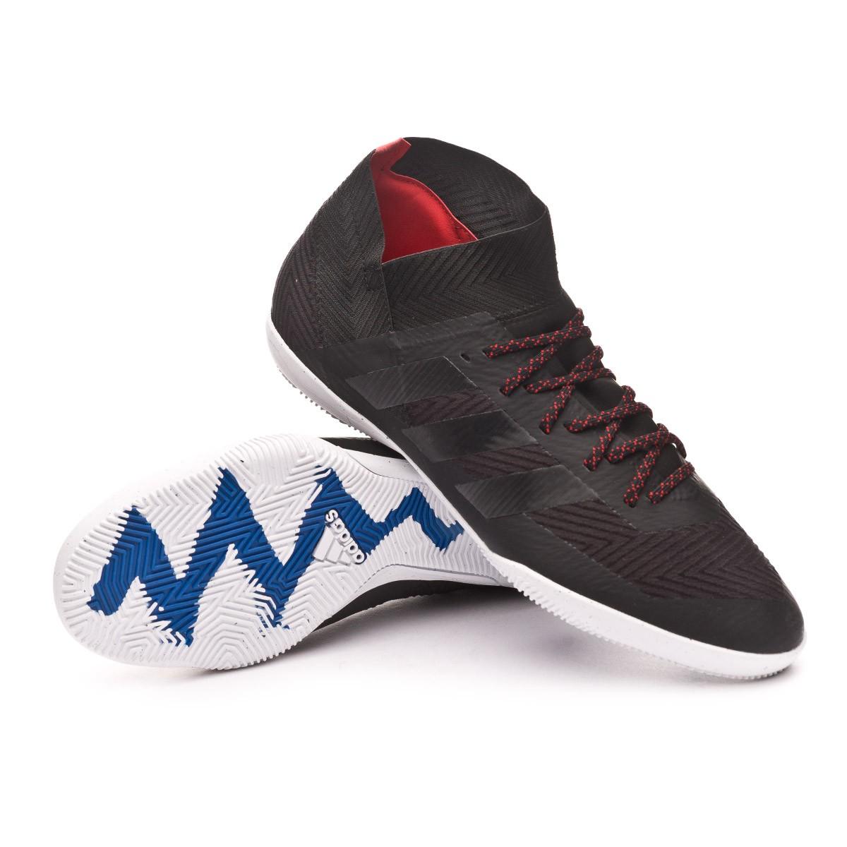 Automáticamente Desventaja nacionalismo  Futsal Boot adidas Nemeziz Tango 18.3 IN Core black-Football blue -  Football store Fútbol Emotion