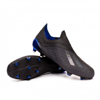 Boot  adidas X 18+ FG Core black-Bold blue